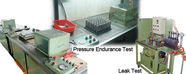 valve parts test with product lifetime in environment test instruments